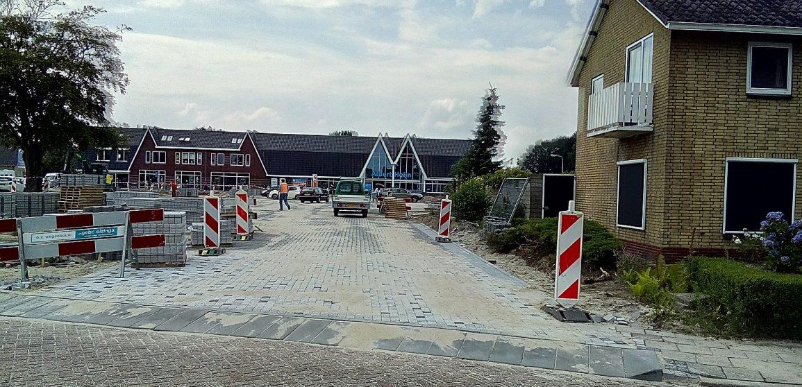 toegang parkeerplaats